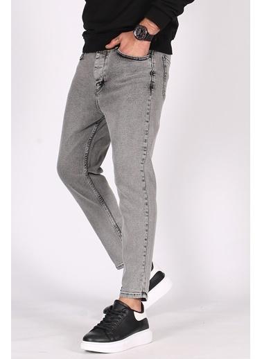 Madmext  Açık  Oversize Erkek Jean 5102 Siyah